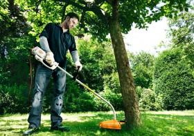 Žoliapjovės sodo darbams