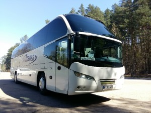Naujas stiklas autobusui